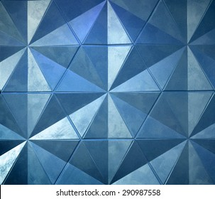 Photo of abstract triangle background