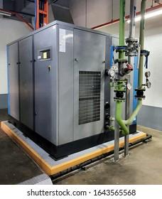 photo of an air compressor