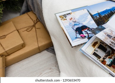 photo album is decorated in a beautiful photobook. Presented