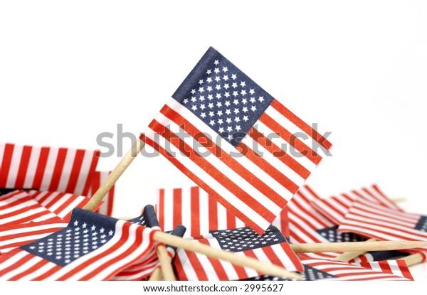 Photo of American Flag Toothpicks - Patriotic / USA