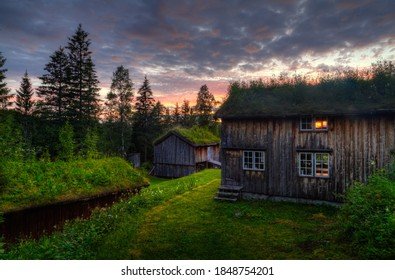Photo from ancient buildings in Norway