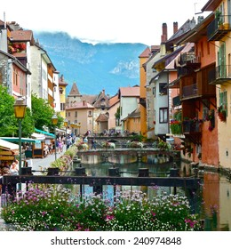 The photo of Annecy in France