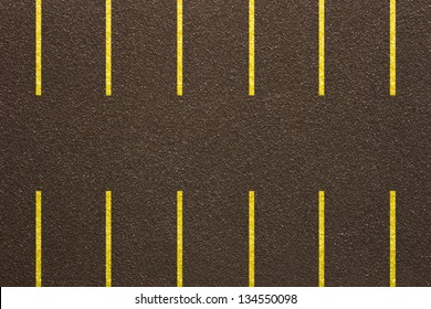 Photo of Asphalt parkinglot - Fake texture