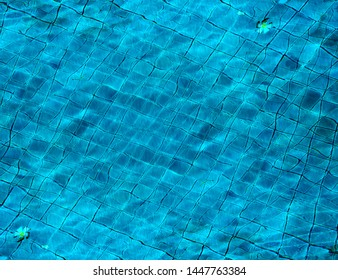 Photo background Beautiful blue transparent sea water with waves