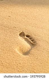Photo of the beautiful sandy beach in Croatia