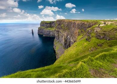 photo of a beautiful scenic irish landscape