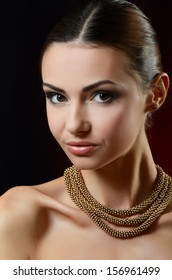 A photo of the beautiful sensual woman