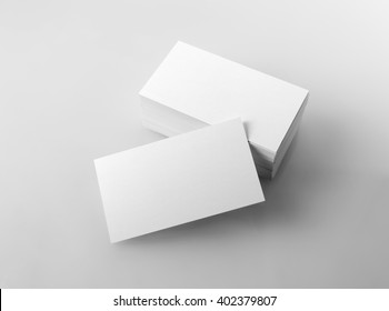 Business card mock images stock photos vectors shutterstock photo of blank business cards mock up for branding identity for designers isolated reheart Gallery