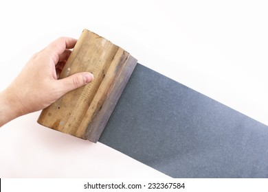 Photo of Blue silkscreening