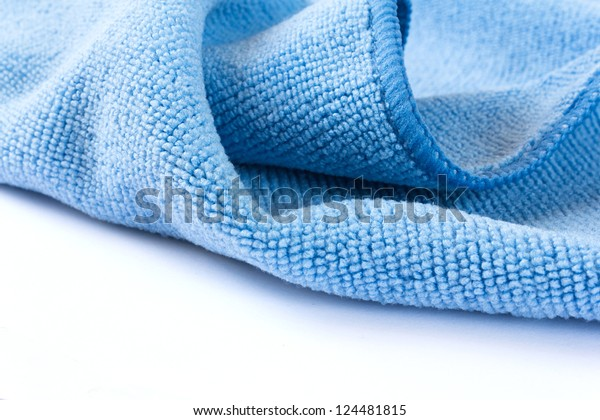 photo of blue wave fabric