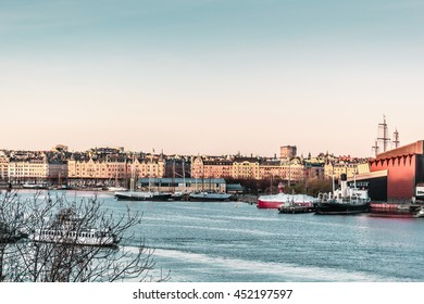 Photo of Boats and Buildings of Stockholm, Sweden