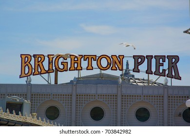 a photo of the brighton pier