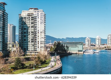 Photo of Buildings in Downtown Vancouver, BC, Canada