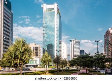Photo of Buildings and Streets of Sao Paulo, Brazil (Brasil)