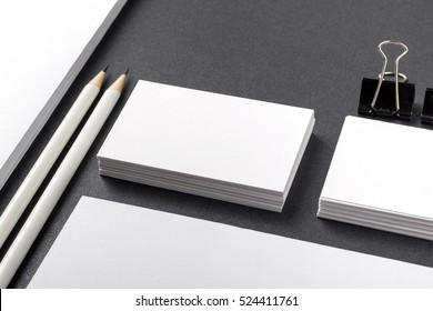 Foto von Visitenkarten. Vorlage für die Markenidentität. Für Grafikdesigner Präsentationen und Portfolios. Business Card, Business, Business, Business, Card, Mount-Up, Mount-Up, Mount-Up-Karte