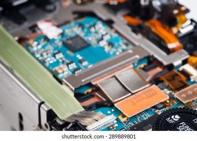 Photo camera repair