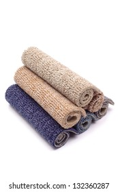 Photo of Carpet rolls colorful
