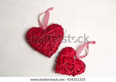 Photo Christmas Tree Ornaments Decorations Valentines Stock Photo