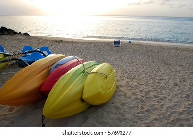 Photo of colorful boats on the beach