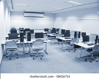 photo of a computer lab