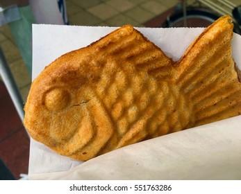 Photo of a cute taiyaki snack
