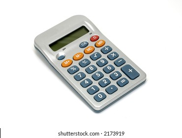 Photo of a Digital Calculator - Everyday Office Item