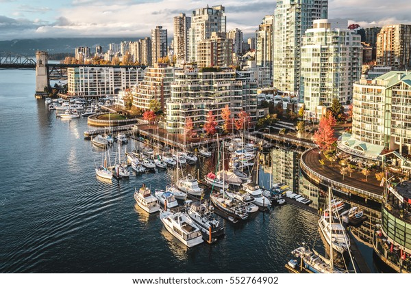 Photo of Downtown Vancouver at Fall in BC, Canada