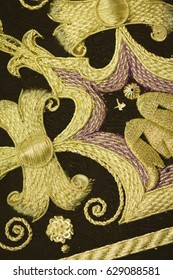 Photo of a embroidery to Easter week.