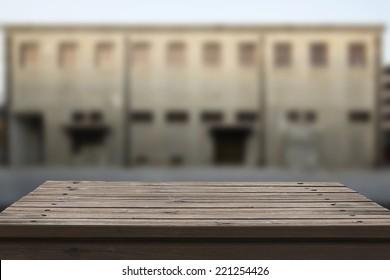 photo of empty table