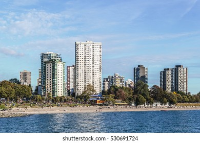 Photo of English Bay Beach in Vancouver, Canada