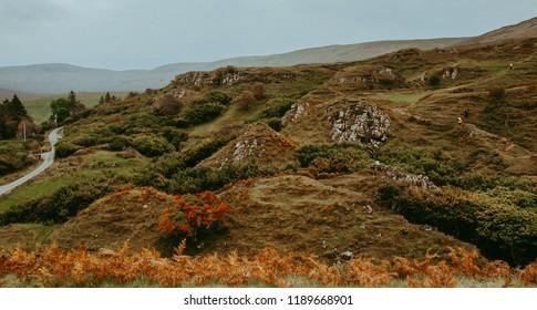 Photo of Fairy Glen, Isle of Skye.
