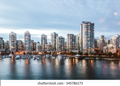 Photo of False Creek in Vancouver, Canada