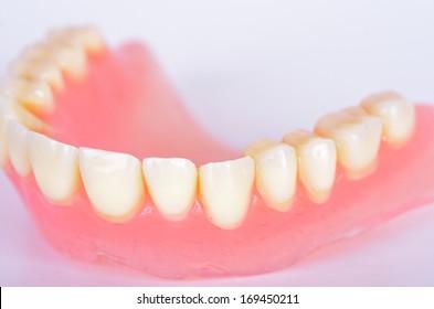 Photo of false teeth