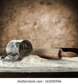 photo of flour