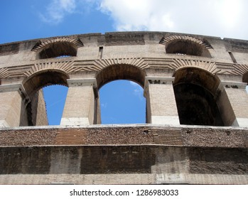 Photo. Fragment of the Roman Colosseum (Amphitheater Flaviyev)
