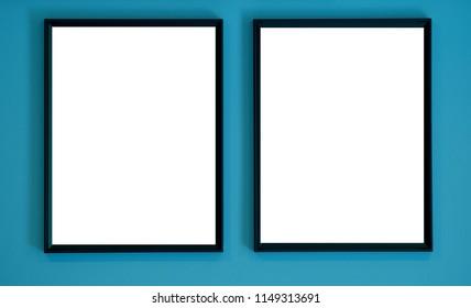 photo frame, gallery, blank frame, photo decoration