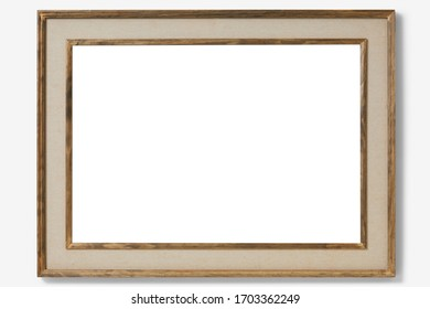 Photo frame isolated. Picture frame.