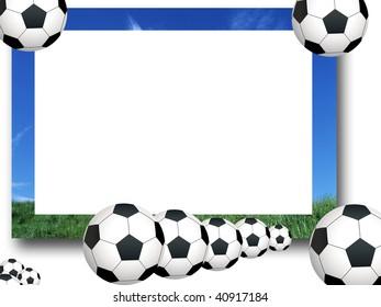 Photo Frame soccer