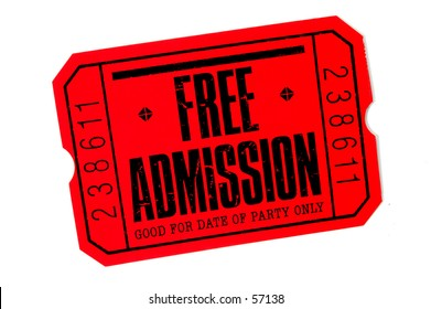 Photo of Free Admission TIcket