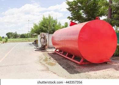 Photo of fuel storage tank