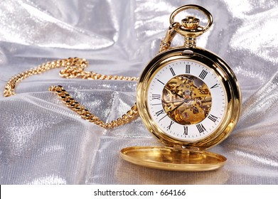 Photo of a Gold Pocketwatch