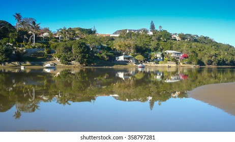 Photo of Gonubie river in East London South Africa