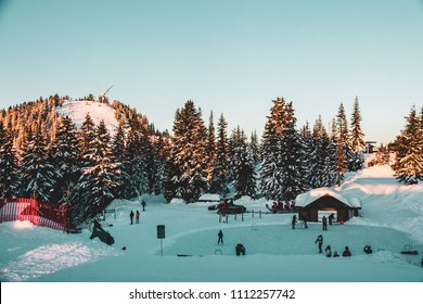 Photo of Grouse Mountain in North Vancouver, BC, Canada