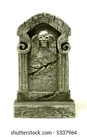 Photo of a Headstone / Tombstone - Halloween Related