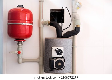 photo of heating system in the house