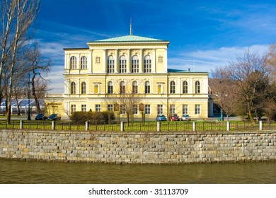 Photo of the historical building in czech republic