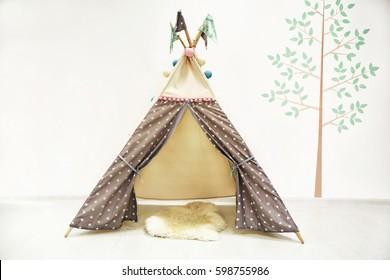 photo of Hut in the children's room