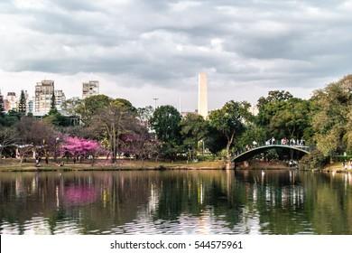 Photo of Ibirapuera Park in Sao Paulo, Brazil (Brasil)