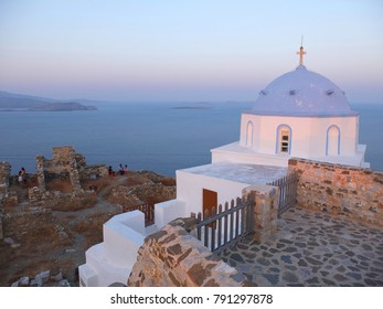 Photo from iconic churches in castle of Astypalaia with unique traditional character, Dodecanese, Greece
