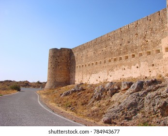 Photo from iconic fortress of Ancient Aptera with views to port of Souda, Chania, Crete, Greece